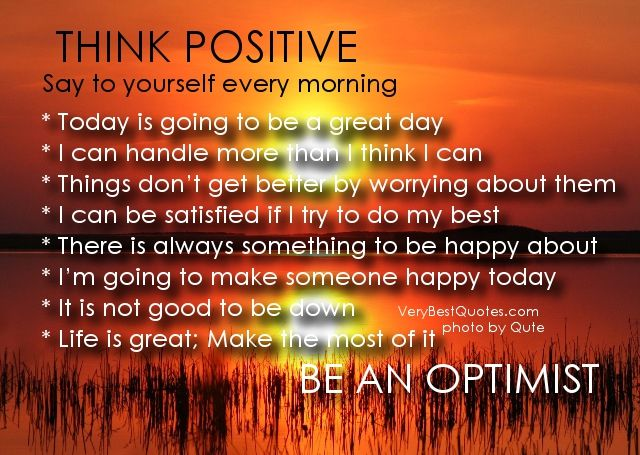 great day motivation Say to yourself every morning