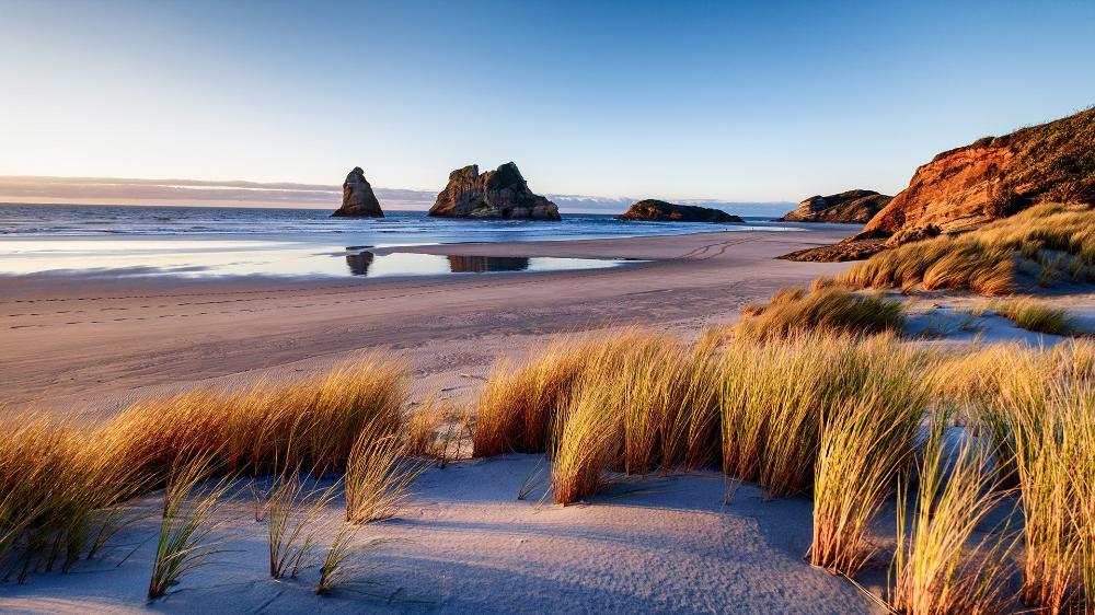 Wharariki Beach New Zealand Windows Lockscreen Beautiful Beaches Bay Of Islands South Island