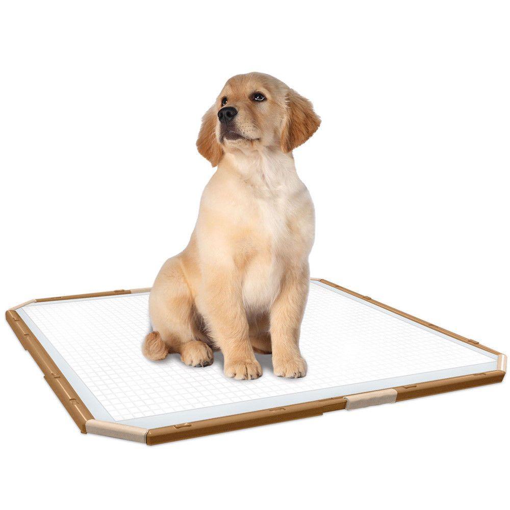 Puppy Pad Holder Dog Potty Toilet Training Area Vets Post