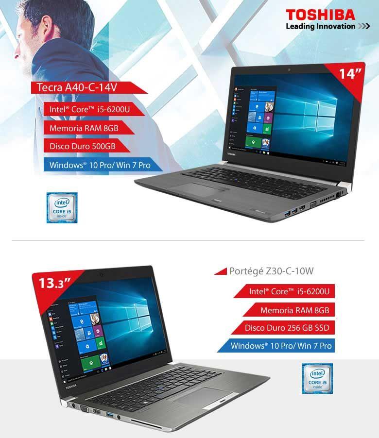 Oferta portátiles Toshiba en Infowork | Ofertas dealermarket ...