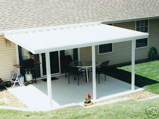aluminum patio cover furniture ideas pinterest aluminum