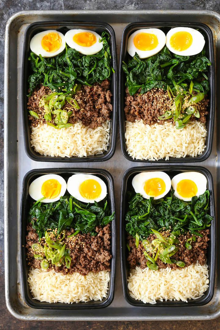 Korean Beef Bowl Meal Prep