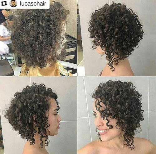 Perfect Bob haircuts for curly hair