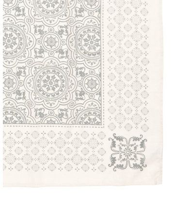 Patterned Tablecloth | Natural white | Home | H&M US