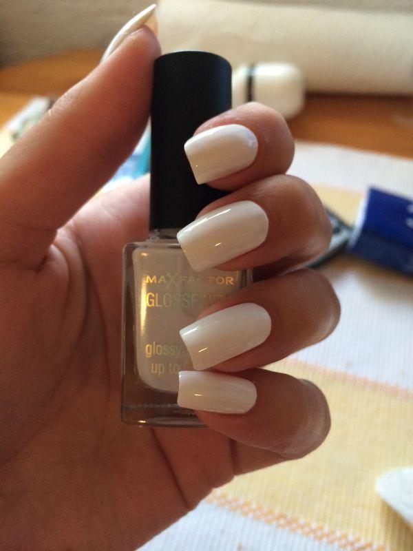 Max factor 10 snow white #nailpolish #maxfactor | Nail Polish ...