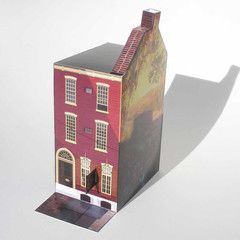 1312 Spruce Street Paper Model from Grand Circus Paper & Toy
