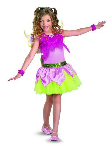 Disguise Costumes Winx Club Flora Deluxe Costume Disguise.  42.99 ... 24966ac4609
