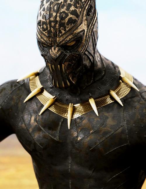 Erik Killmonger Golden Jaguar In Black Panther Deadpool Black