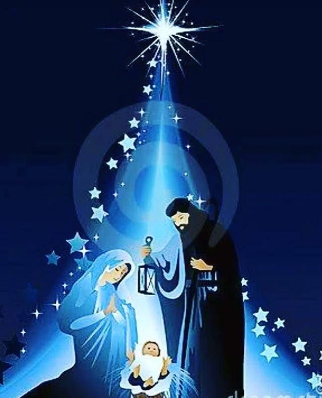 Merry Christmas Jesus Christmas Nativity Scene, Nativity Scenes, Outdoor Nativity Scene, Blue Christmas, Meaning Of Christmas, Christmas Images, Merry Christmas Jesus, Vintage Christmas, Christmas Time
