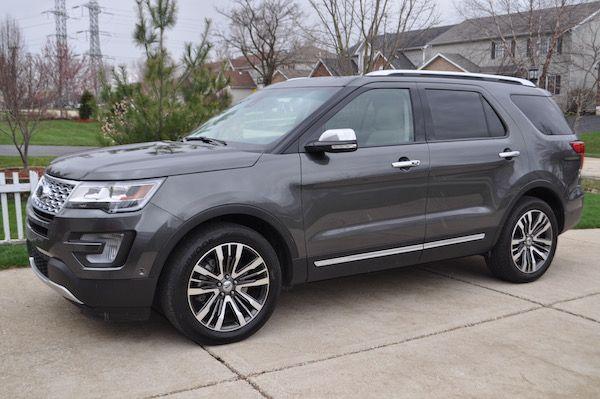 2016 Ford Platinum Explorer 4wd Ford Explorer