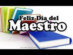 GRACIAS MAESTRO - FELIZ DÍA MAESTRO - Poesía Para el día del Profesor (20120)