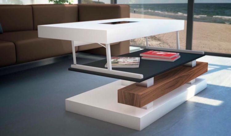 Mesa De Centro Fija ó Elevable Mesa De Centro Elevable ó Fija Muebles De Lujo Diseño De Muebles Muebles Para Tienda