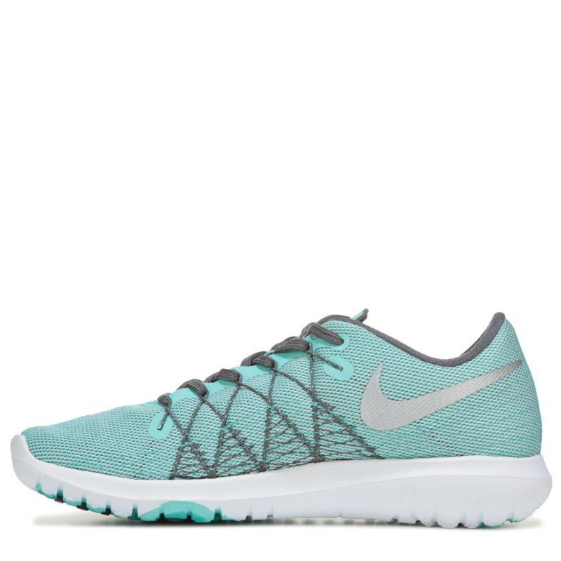 5a0be9782f8 Nike Women s Flex Fury 2 Running Shoes (Turquoise) - 6.5 M