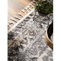 Photo of benuta Trends Kurzflor Teppich Bela Beige/Grau 80×150 cm – Moderner Teppich für Wohnzimmer