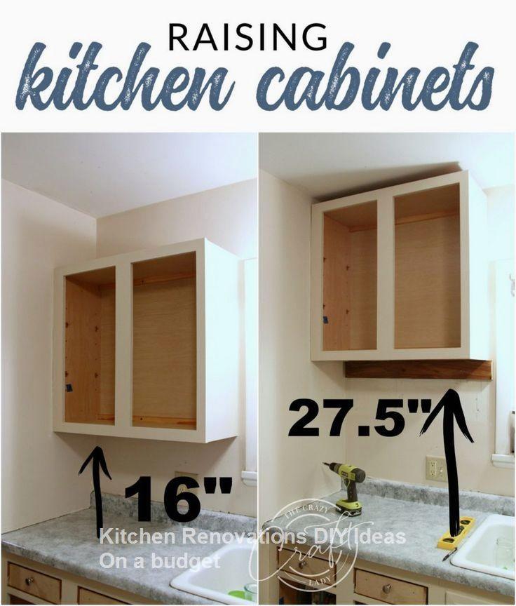 Renew Kitchen Cabinets: 10 DIY Solutions To Renew Your Kitchen #Kitchenrenovation