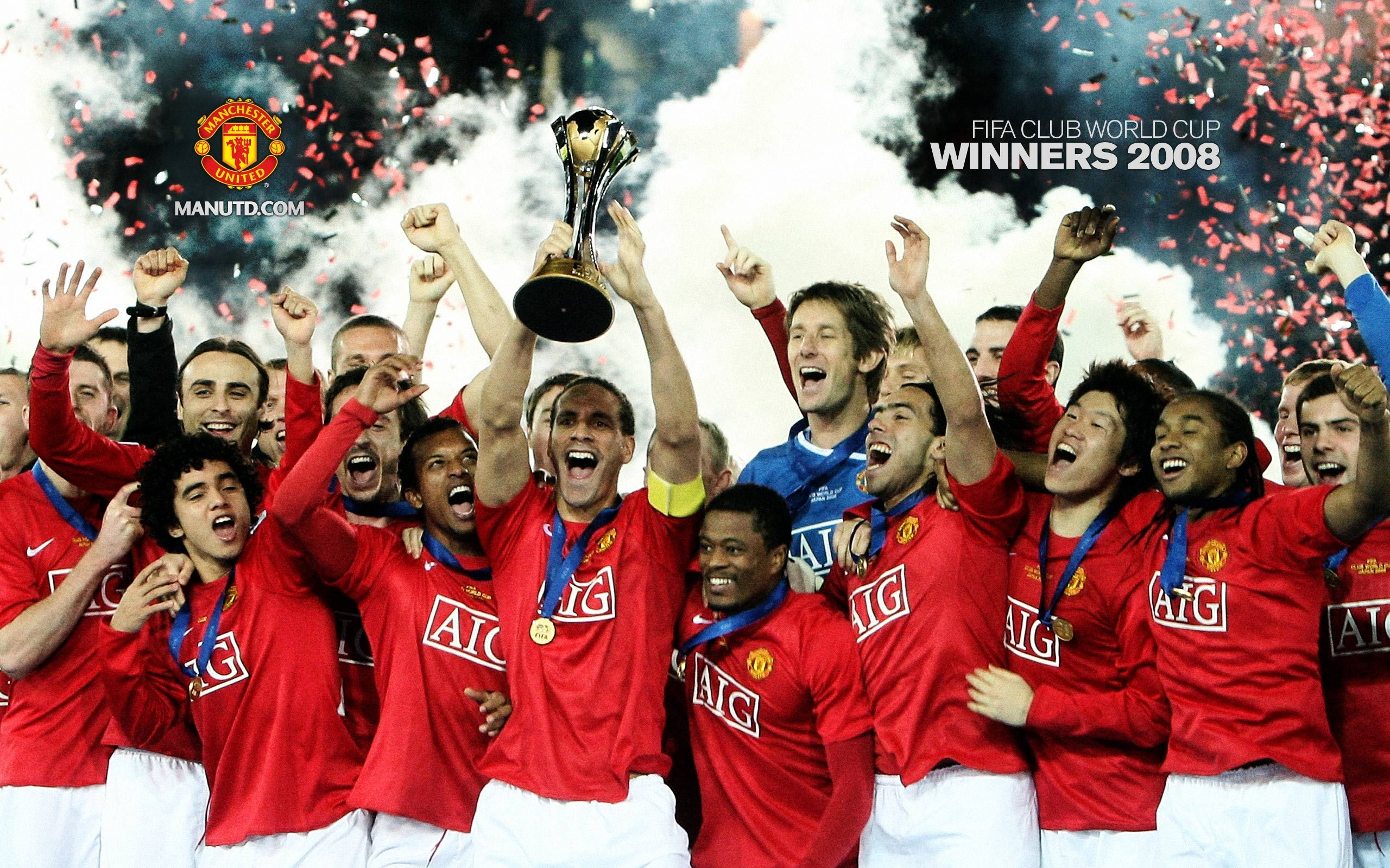 Club World Cup 2008 Winner Manchester united club