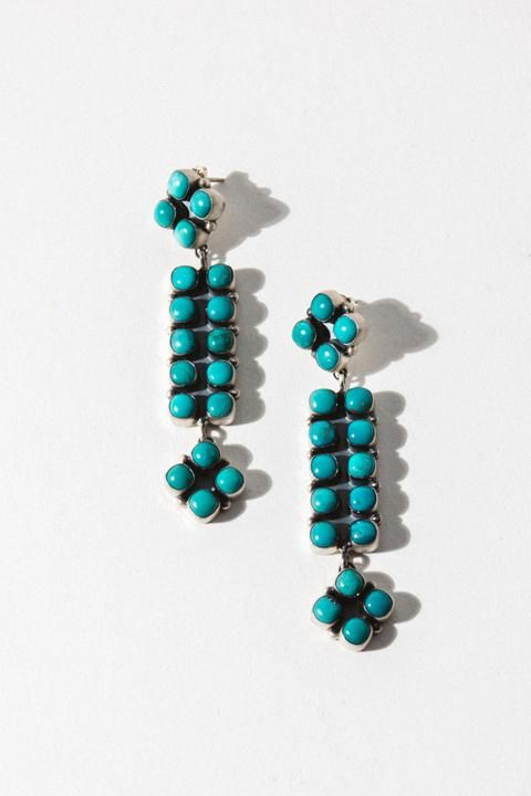 Photo of Open Road Turquoise Earrings
