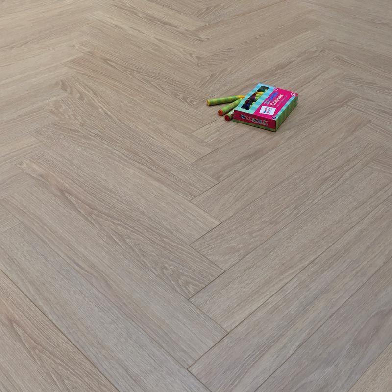Prestige Herringbone Chic Oak 8mm Laminate Floor Flooring Ideas