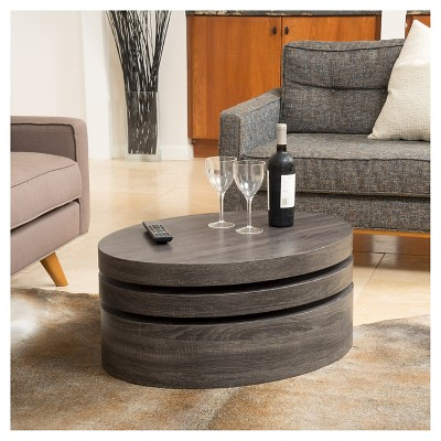 black living room tables best deals on furniture carson coffee table oval mod rotating oak christopher knight home
