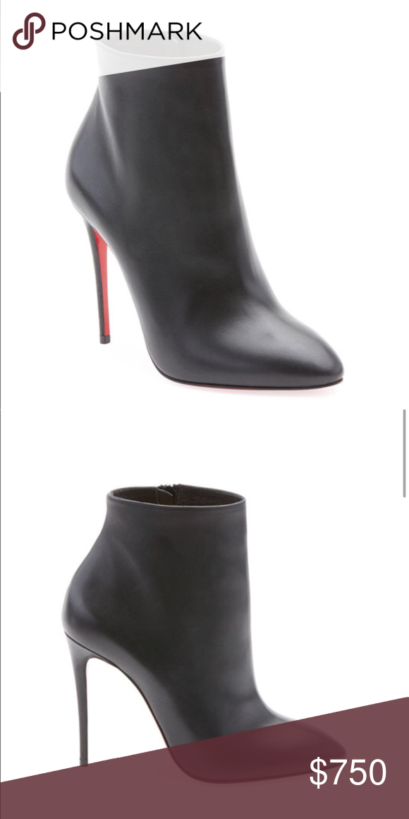 low priced 88543 e58ef Christian Louboutin Eloise Leather RedSole Booties More ...