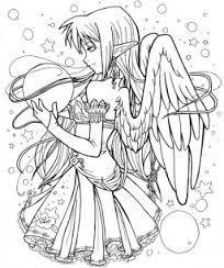 Resultado De Imagen Para Imagenes De Animes Para Dibujar Fairy Coloring Pages Chibi Coloring Pages Animal Coloring Pages