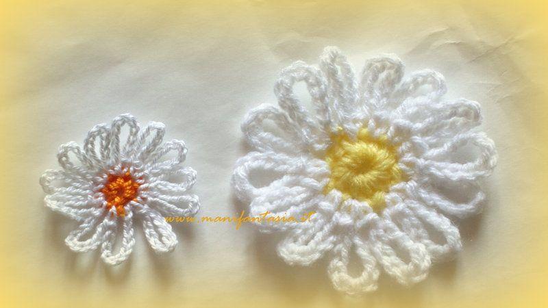 Fiori Uncinetto Schemi E Tutorial Facili E Belli Flowers Leaves