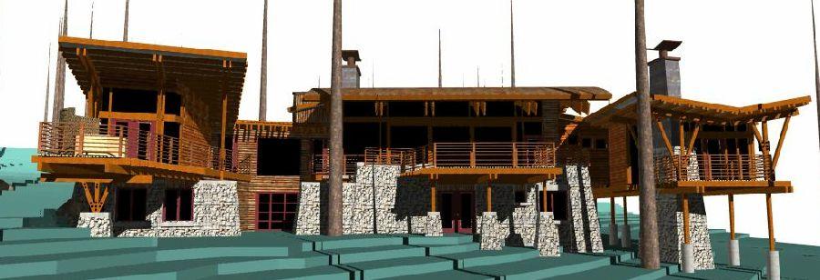 Ken Meffan architect Lake tahoe, Nevada city, World