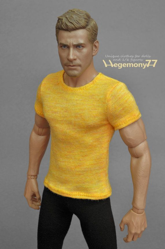"""Custom 1:6 Scale Long sleeve T-shirt Clothes For 12/"""" Female Body Dolls"""