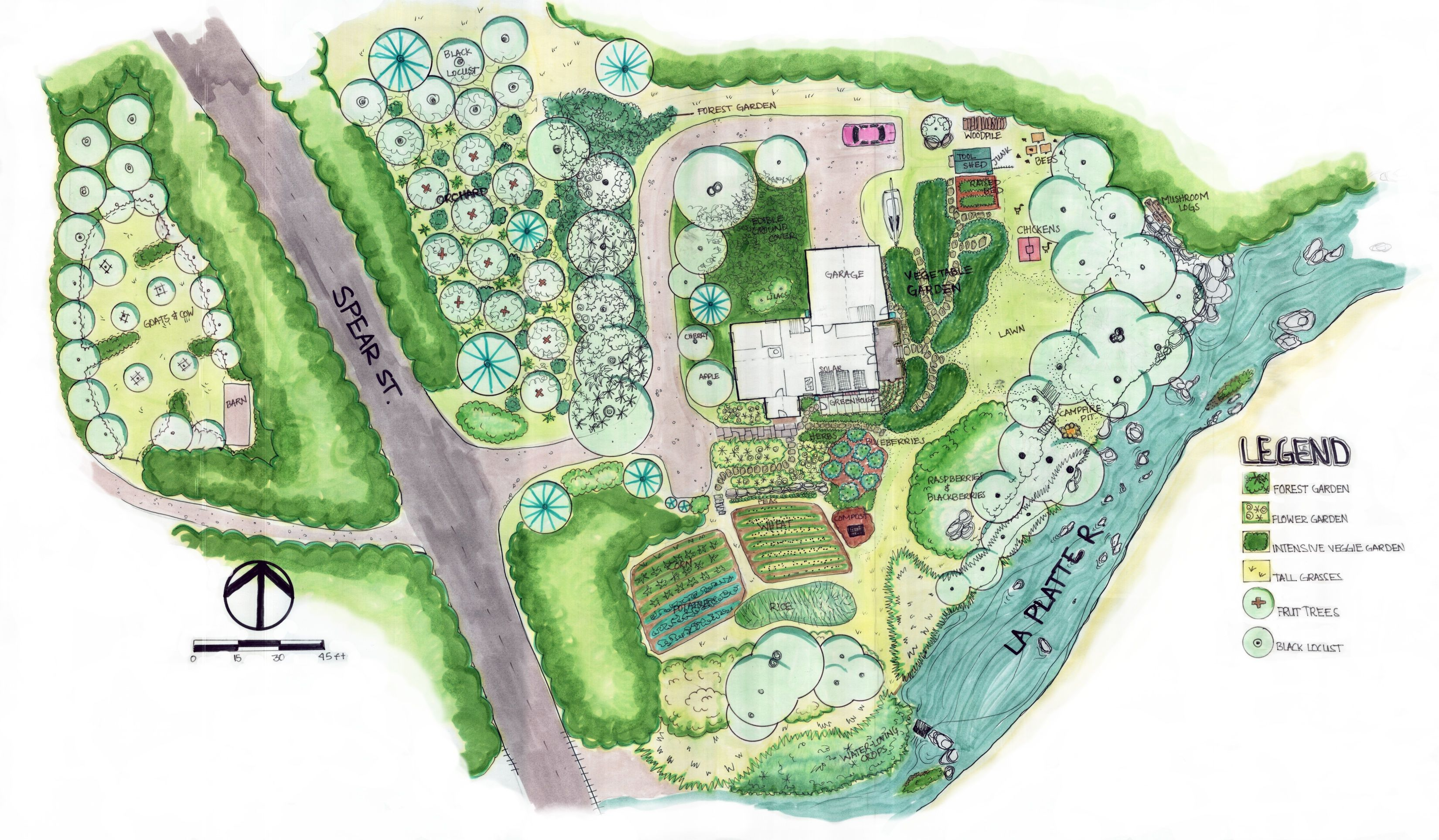 permaculture design idea (avec images) Permaculture