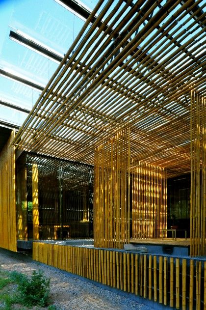 The Commune By The Great Wall With Images Bamboo Architecture