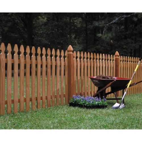Lowes Fence Wood Picket Fence Picket Fence Panels Fence Panels