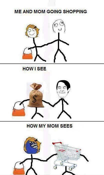 Shopping Crazy Funny Memes Funny Memes Really Funny Memes