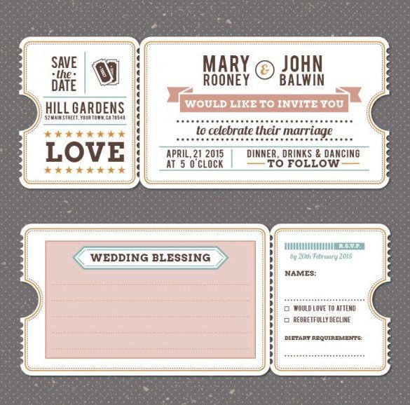 85+ Wedding Invitation Templates PSD AI Retro wedding
