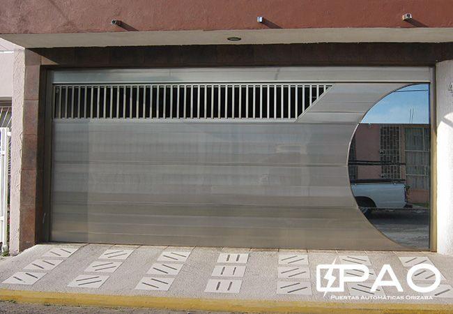 Pao I Portones De Aluminio Plasma Pinterest Puertas