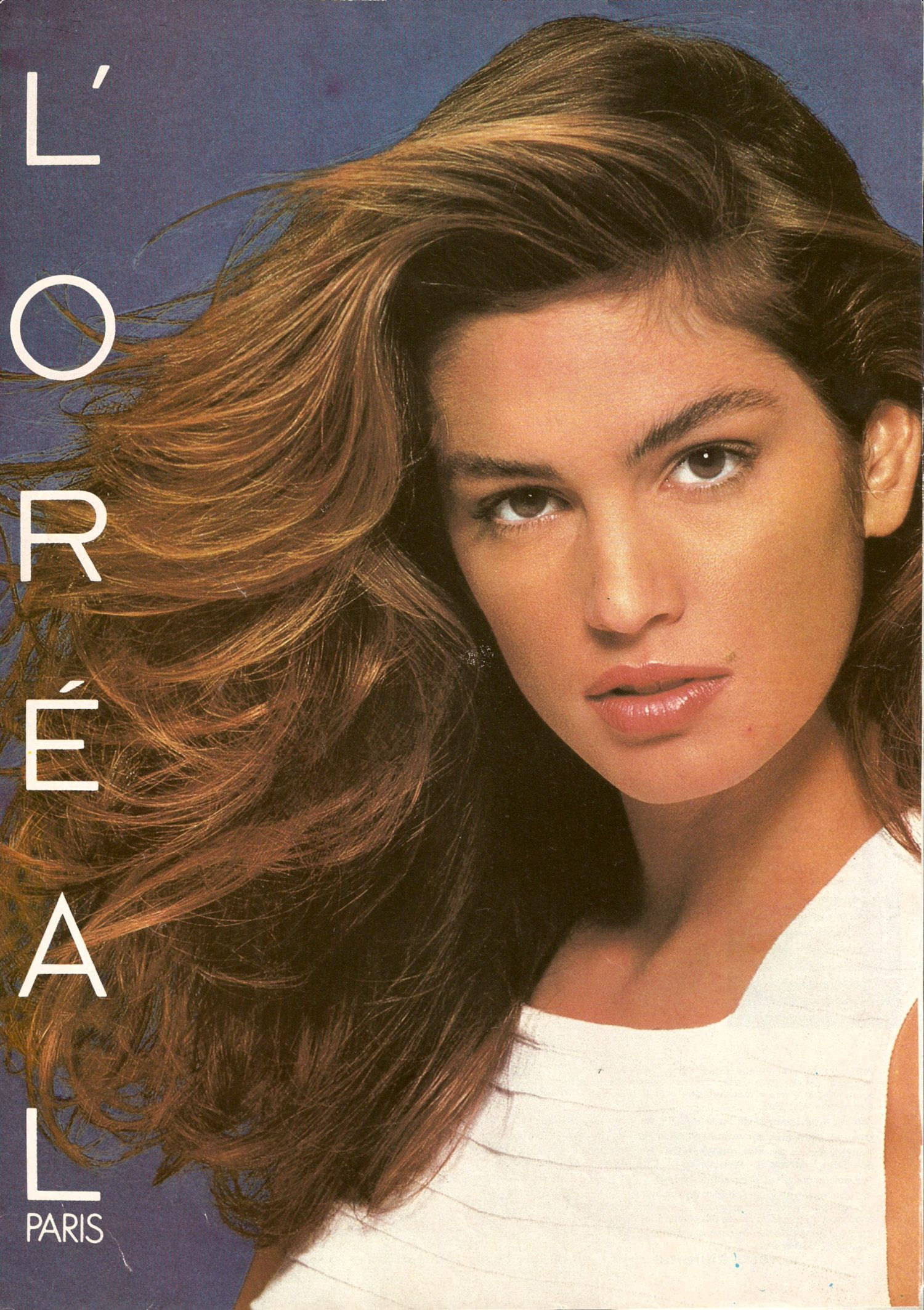 Cindy crawford cover ad loral beauty mark pinterest cindy crawford cover ad loral pmusecretfo Images