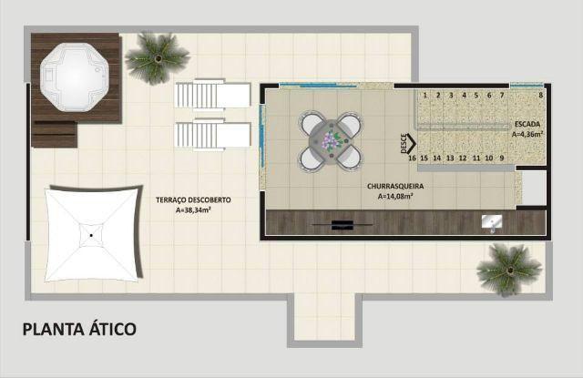 Casa em condomínio Champagnat  a venda em Curitiba, melhor localização do Champagnat em Curitiba à venda, Bosso Imóveis (3)
