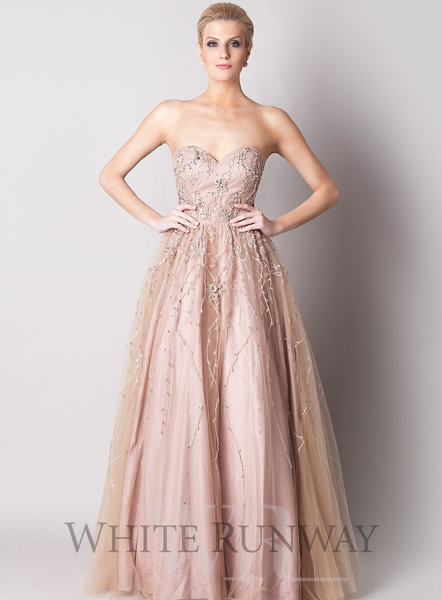 Raya Tulle Dress A Beautiful Gown By Australian Designer Jadore Strapless Ballgown Featuring Beaded Bustier And Volumised Skirt