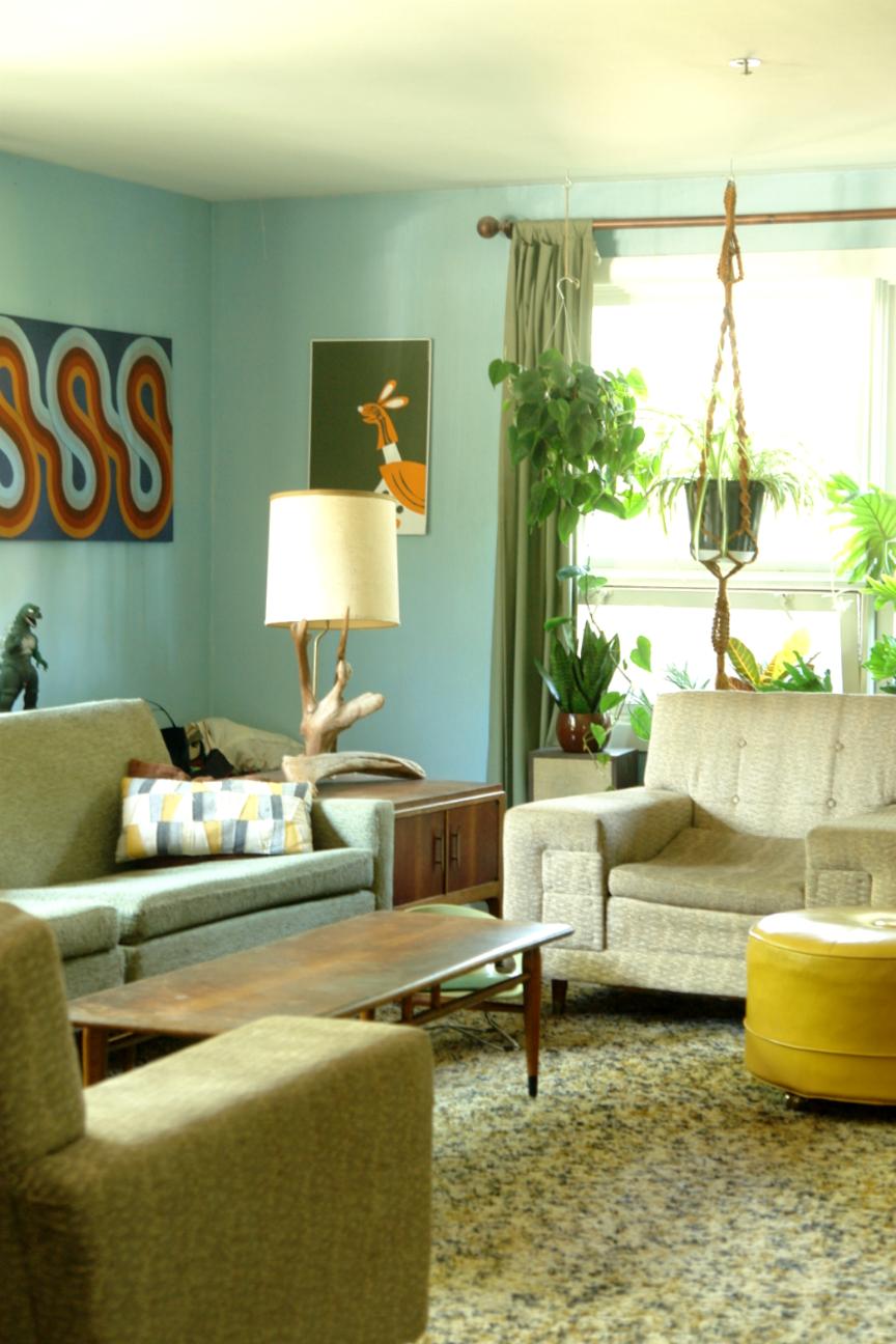 Mid-Century Modern Ranch House - gorgeous vintage home decor details ...