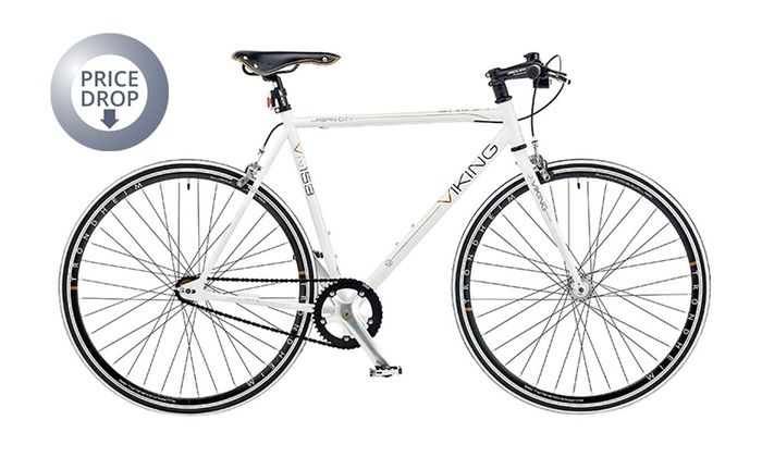 Viking Urban City Single Speed Bike (63% Off)  Was 299.99 Now £109.99 + Free Delivery