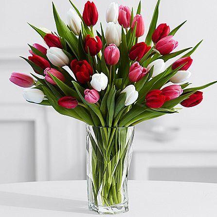 Introducing Valentine Lovella Eshopclub Same Day Valentine Day Flower Delivery Online Valentine Valentines Flowers Flower Arrangements Simple Tulips In Vase