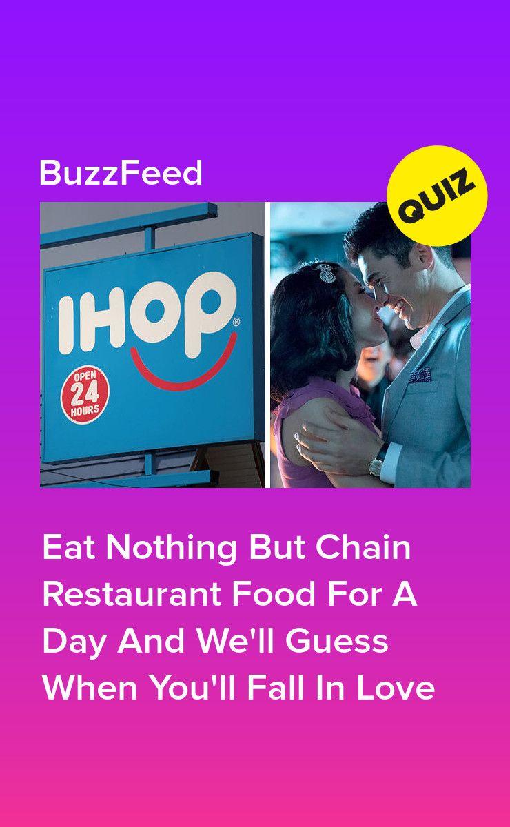 Restaurant dating quiz buzzfeed