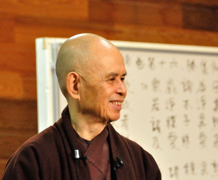 Thich Nhat Hanh Health Update Doctors Cautiously Optimistic