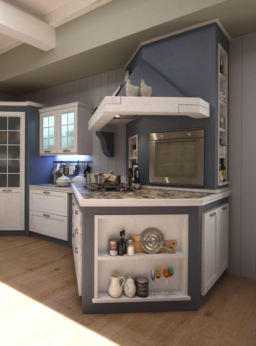 Arrex Le Cucine modello Sandy | Scegli lo stile Shabby Chic ...