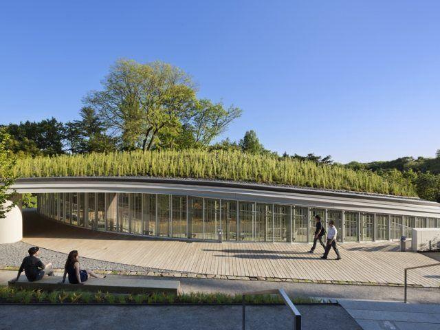 Botanic Garden Visitor Centre by Weiss/Manfredi #botanicgarden