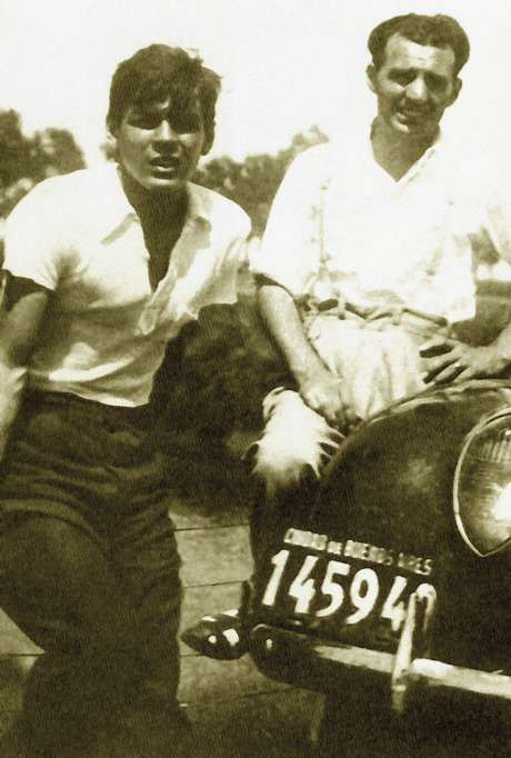 Che Guevara E Alberto Granado Di 225 Rio De Motocicleta border=