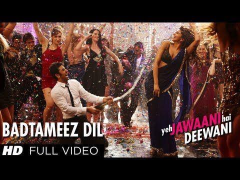 Badtameez Dil Full Song HD Yeh Jawaani Hai Deewani | Ranbir Kapoor, Deepika Padukone - YouTube