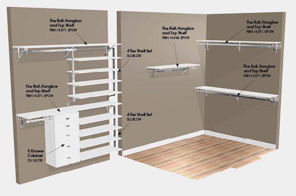 Walk In Closet Design Ideer Diy Foto   6