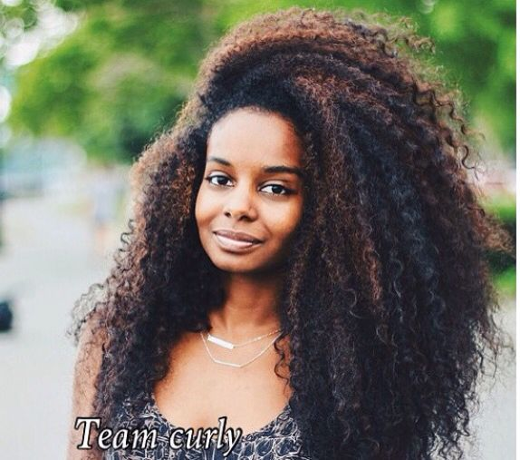 Inspi tissage/ closure coiffure afro frisé Curly hair