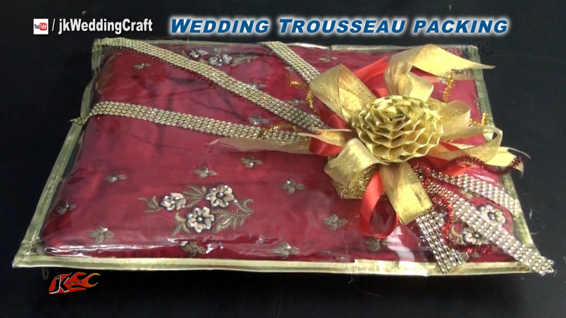 Creative Gift Packing Ideas For Wedding Trousseau How To Pack Indian Dress Jk Wedding Wedding Gifts Packaging Bridal Gift Wrapping Ideas Trousseau Packing