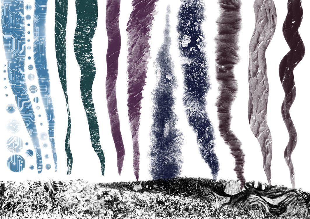 Procreate Seamless Pattern Texture Brush Strokes By Georgvw